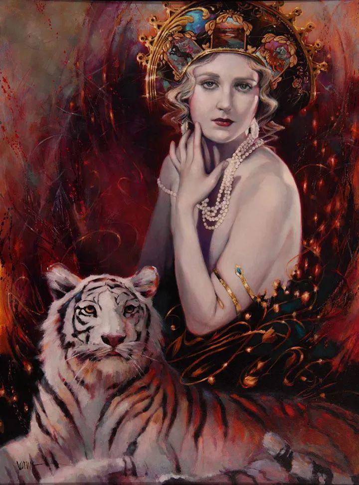 色彩表现浑然天成,她画出了心中的睡莲!德国艺术家唐娜·杨插图97