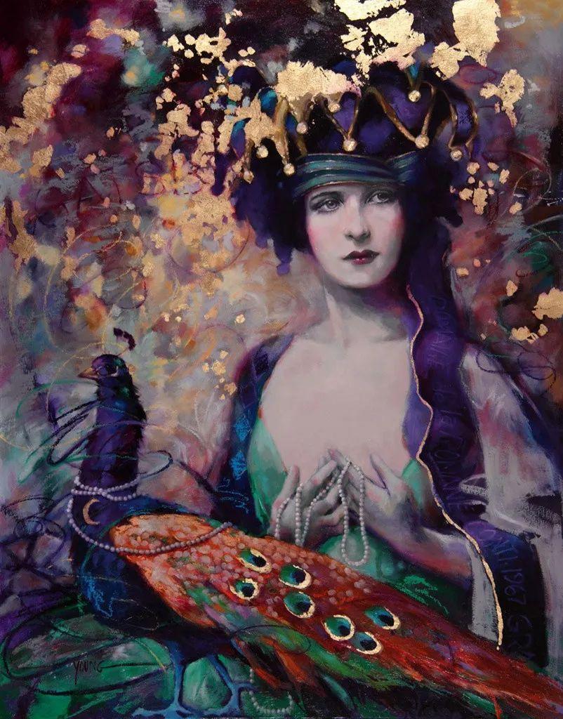 色彩表现浑然天成,她画出了心中的睡莲!德国艺术家唐娜·杨插图101