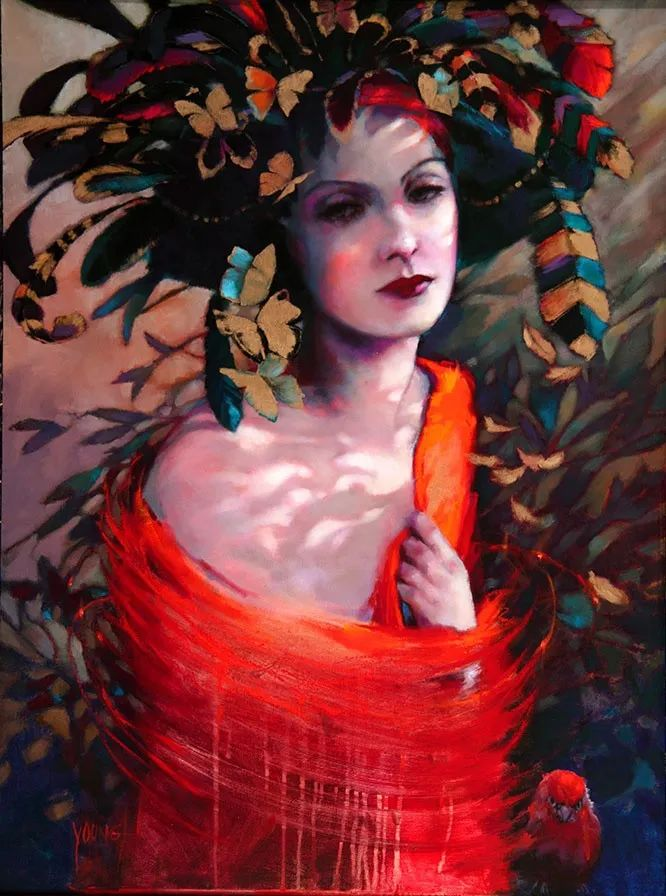 色彩表现浑然天成,她画出了心中的睡莲!德国艺术家唐娜·杨插图103