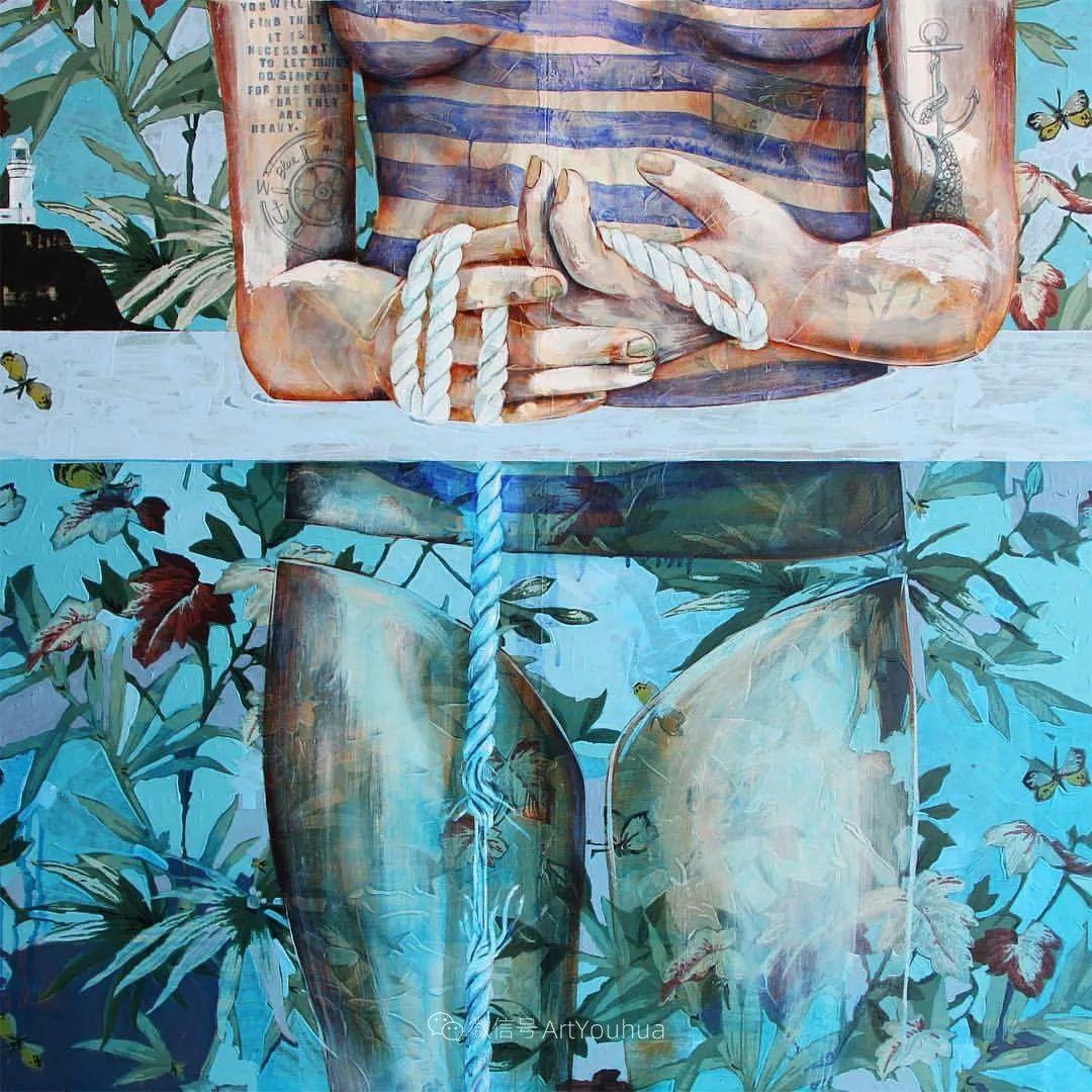 花鸟与女子,澳大利亚艺术家Jessica Watts作品二插图23