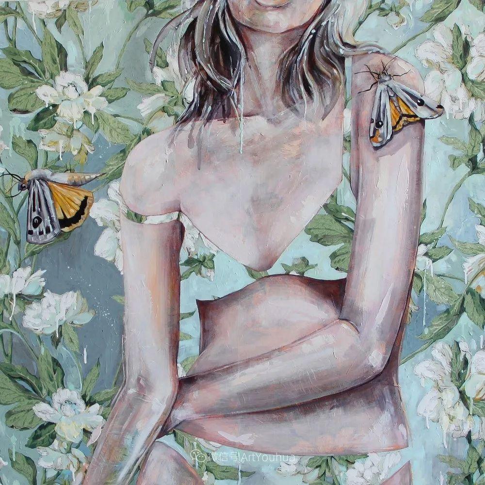 花鸟与女子,澳大利亚艺术家Jessica Watts作品二插图51