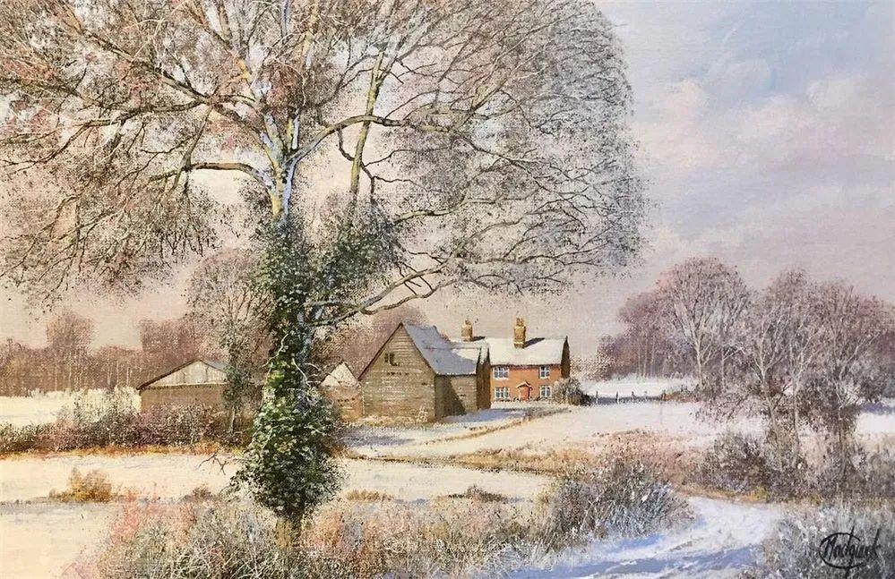 写实田园风光,英国艺术家Clive Madgwick作品二插图17