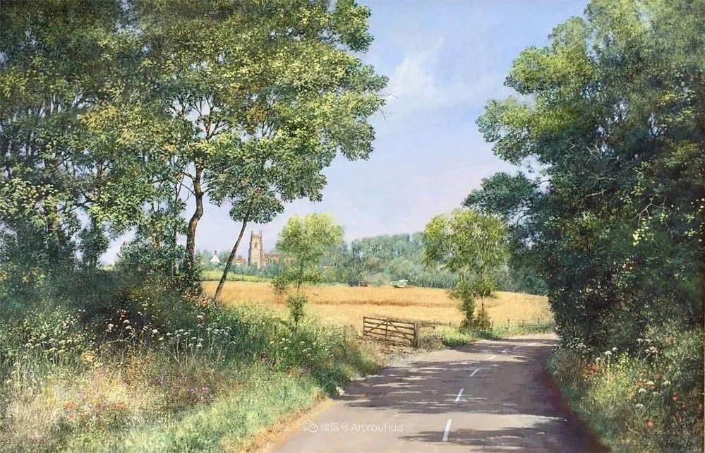 写实田园风光,英国艺术家Clive Madgwick作品二插图19