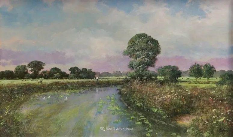 写实田园风光,英国艺术家Clive Madgwick作品二插图23