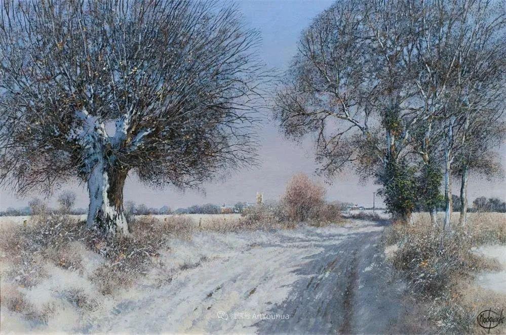 写实田园风光,英国艺术家Clive Madgwick作品二插图33