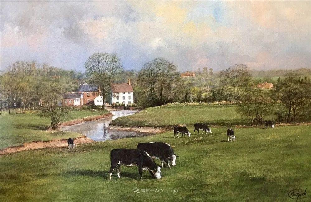 写实田园风光,英国艺术家Clive Madgwick作品二插图37