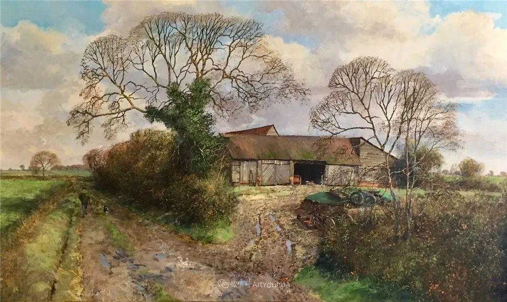 写实田园风光,英国艺术家Clive Madgwick作品二插图39