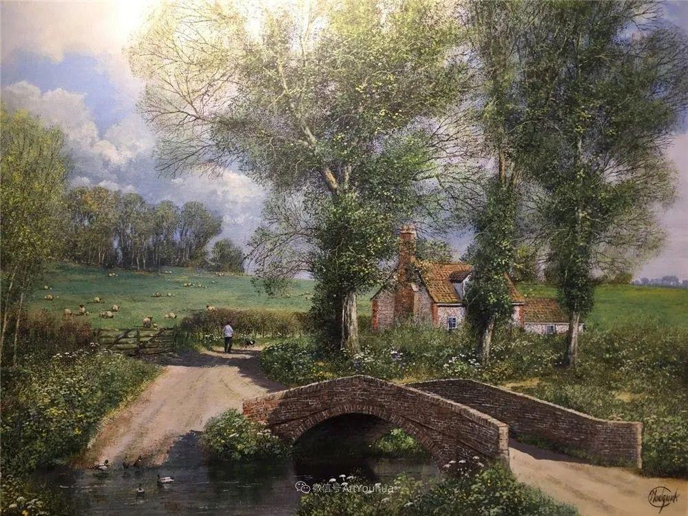 写实田园风光,英国艺术家Clive Madgwick作品二插图41