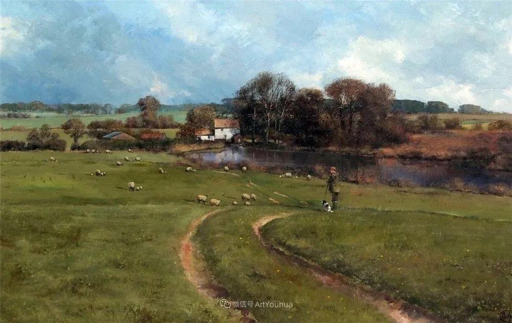 写实田园风光,英国艺术家Clive Madgwick作品二插图45