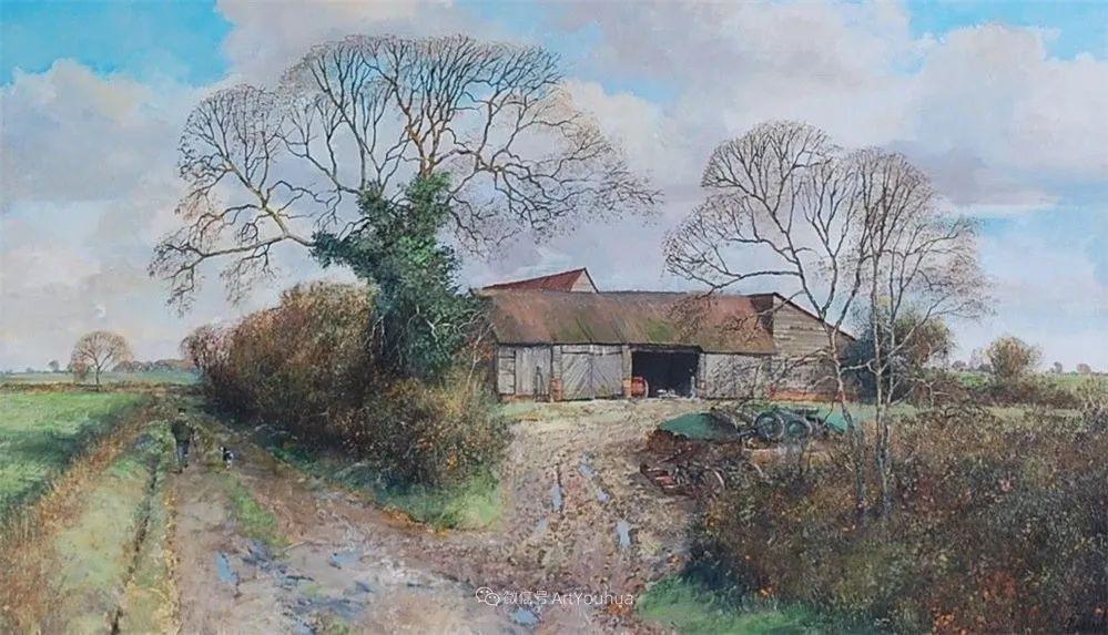 写实田园风光,英国艺术家Clive Madgwick作品二插图49