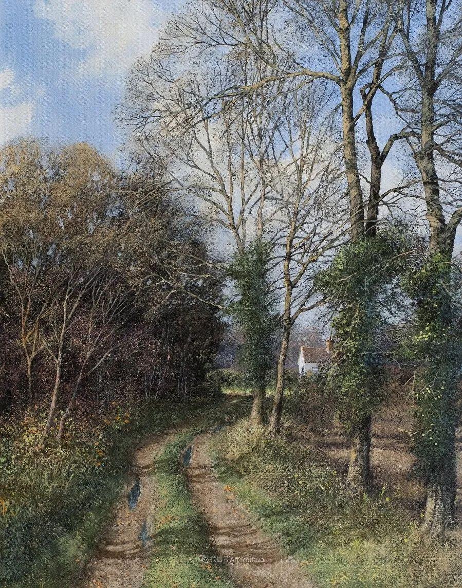写实田园风光,英国艺术家Clive Madgwick作品二插图65