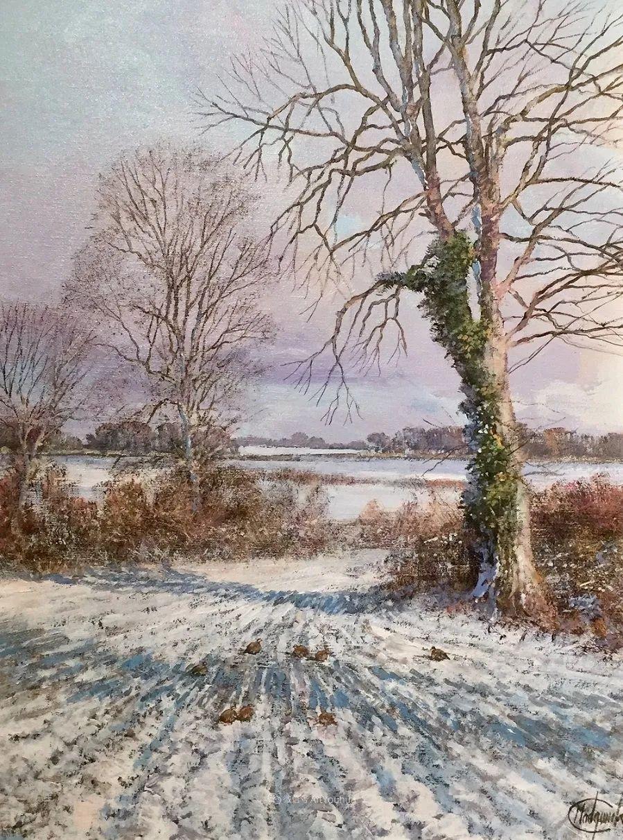 写实田园风光,英国艺术家Clive Madgwick作品二插图75