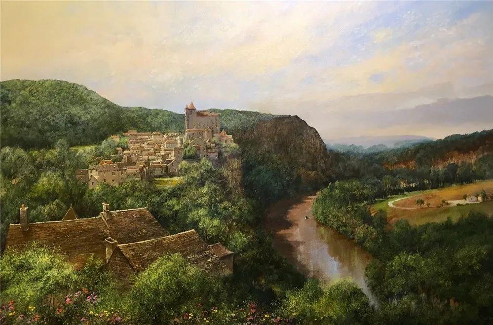 建筑风景,英国艺术家克莱夫·麦格威克插图2