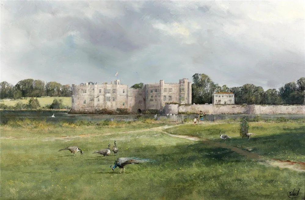 建筑风景,英国艺术家克莱夫·麦格威克插图4