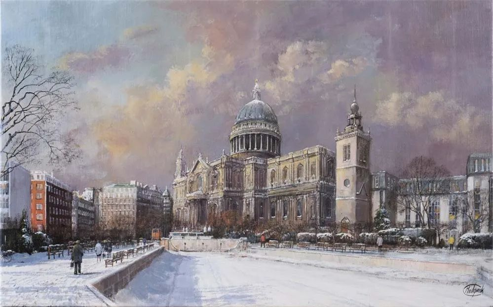 建筑风景,英国艺术家克莱夫·麦格威克插图8