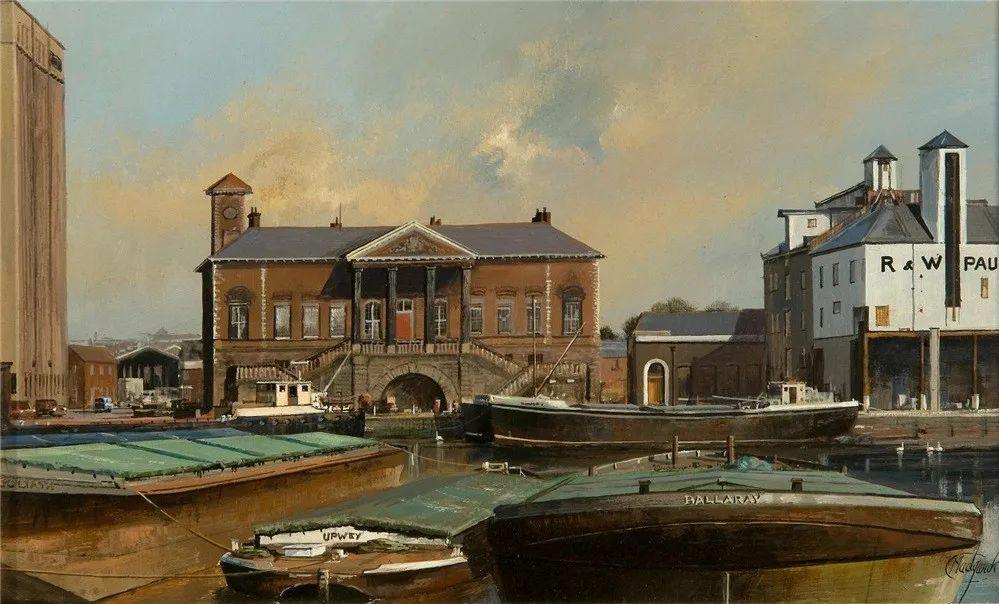 建筑风景,英国艺术家克莱夫·麦格威克插图10