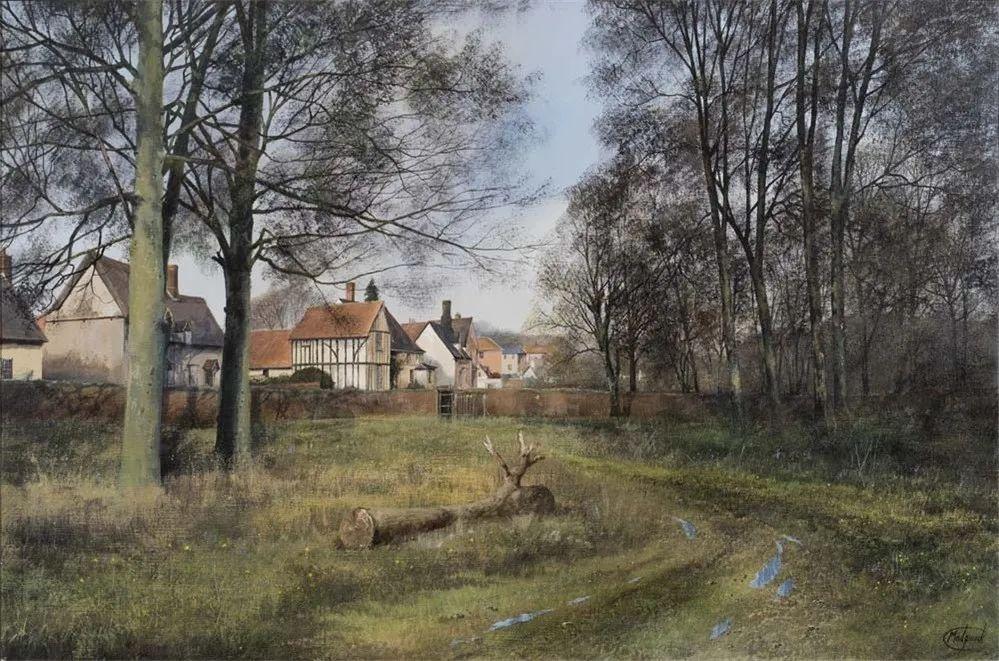 建筑风景,英国艺术家克莱夫·麦格威克插图11