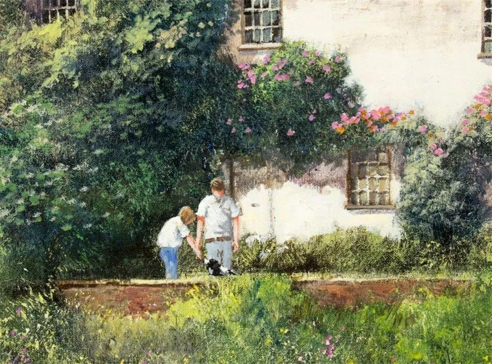 建筑风景,英国艺术家克莱夫·麦格威克插图15