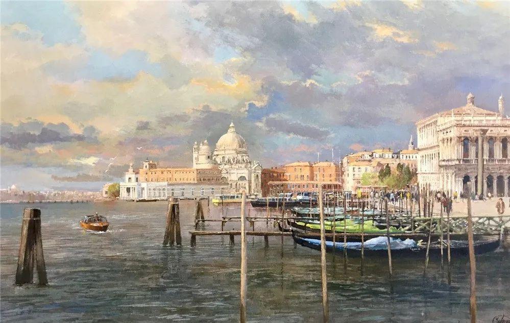 建筑风景,英国艺术家克莱夫·麦格威克插图17
