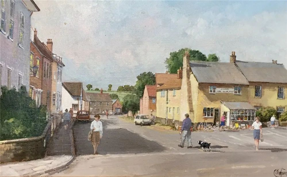 建筑风景,英国艺术家克莱夫·麦格威克插图18