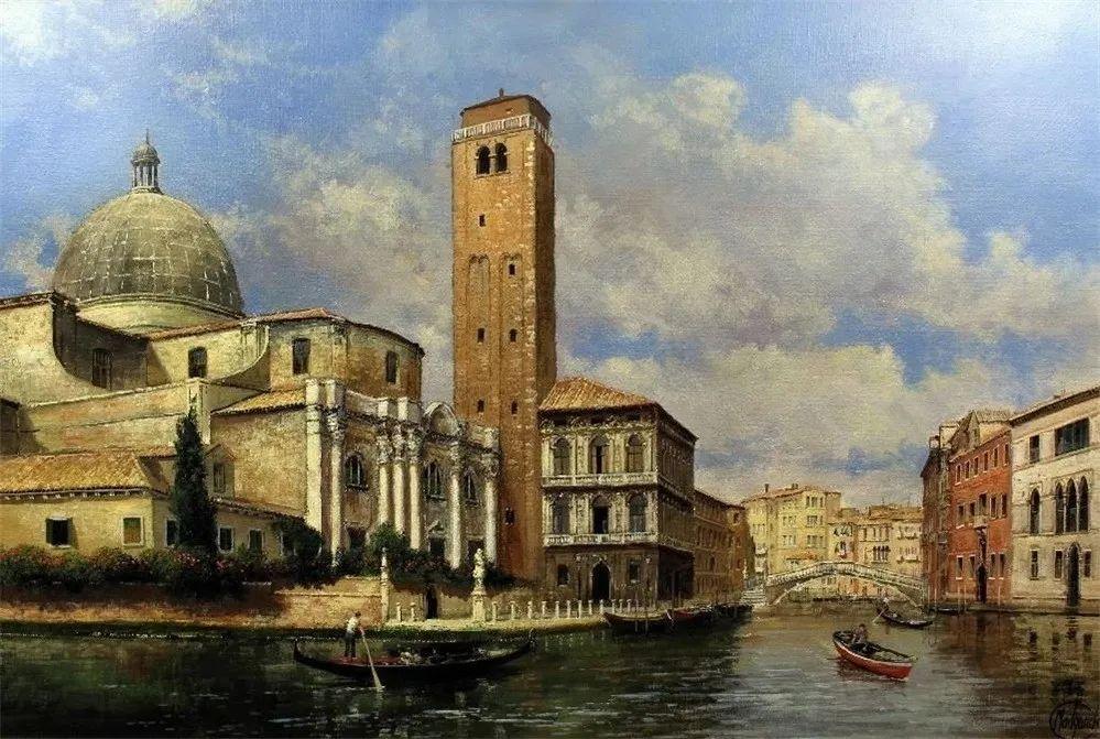 建筑风景,英国艺术家克莱夫·麦格威克插图19