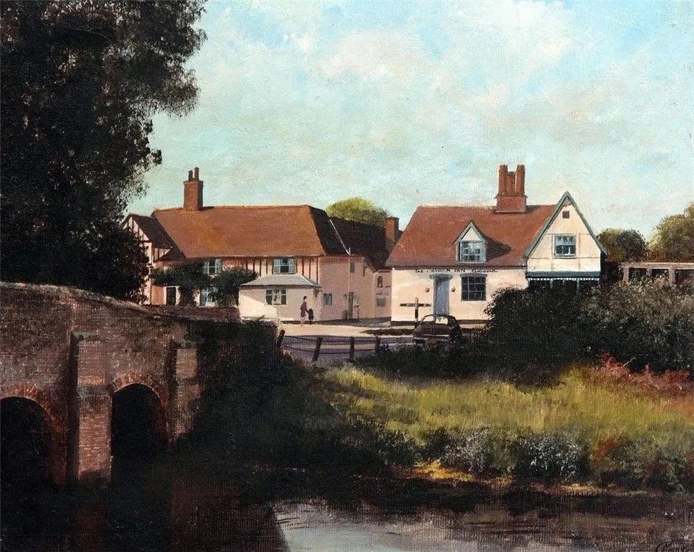 建筑风景,英国艺术家克莱夫·麦格威克插图20