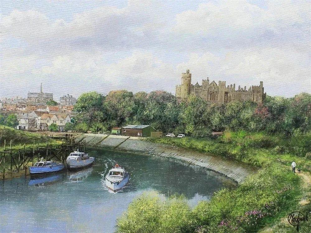 建筑风景,英国艺术家克莱夫·麦格威克插图22