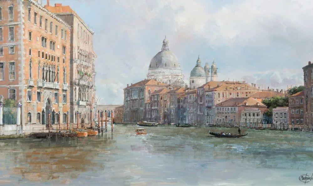 建筑风景,英国艺术家克莱夫·麦格威克插图25