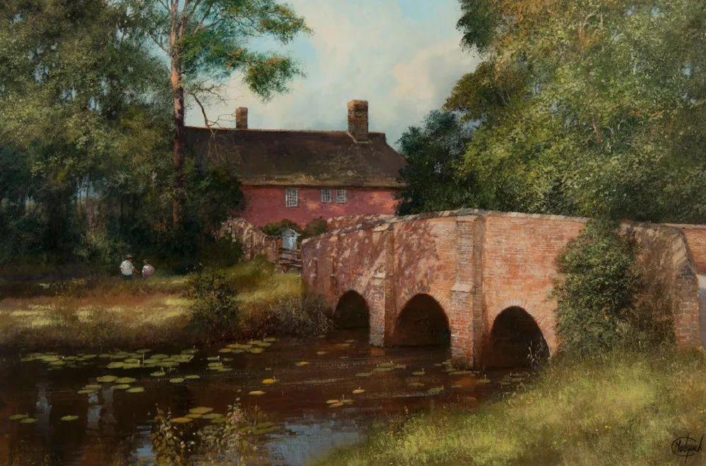 建筑风景,英国艺术家克莱夫·麦格威克插图27