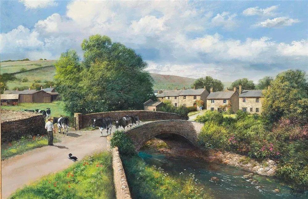 建筑风景,英国艺术家克莱夫·麦格威克插图29