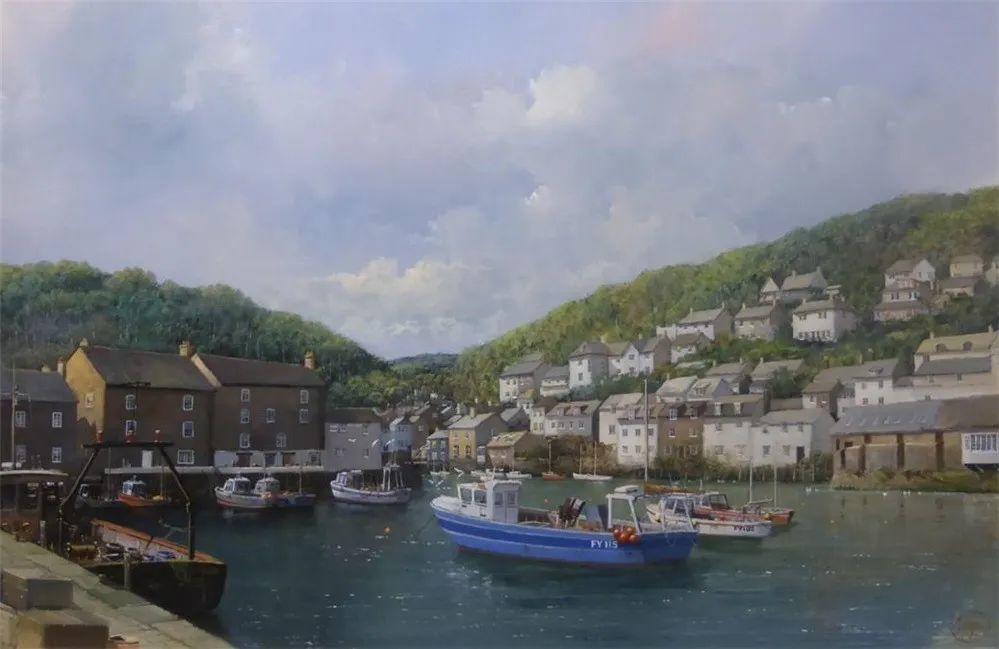 建筑风景,英国艺术家克莱夫·麦格威克插图30