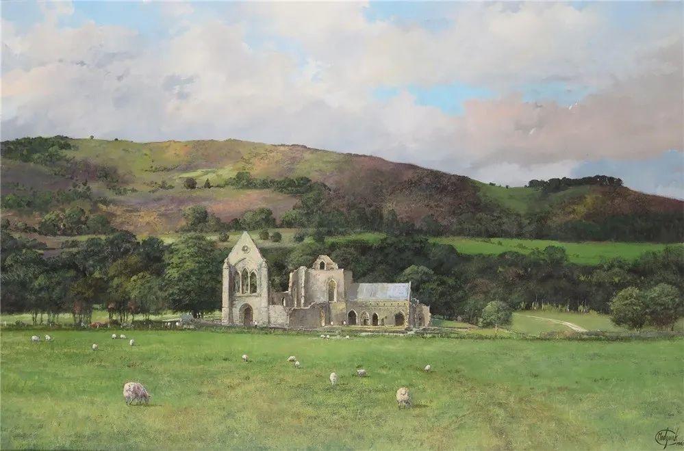 建筑风景,英国艺术家克莱夫·麦格威克插图31