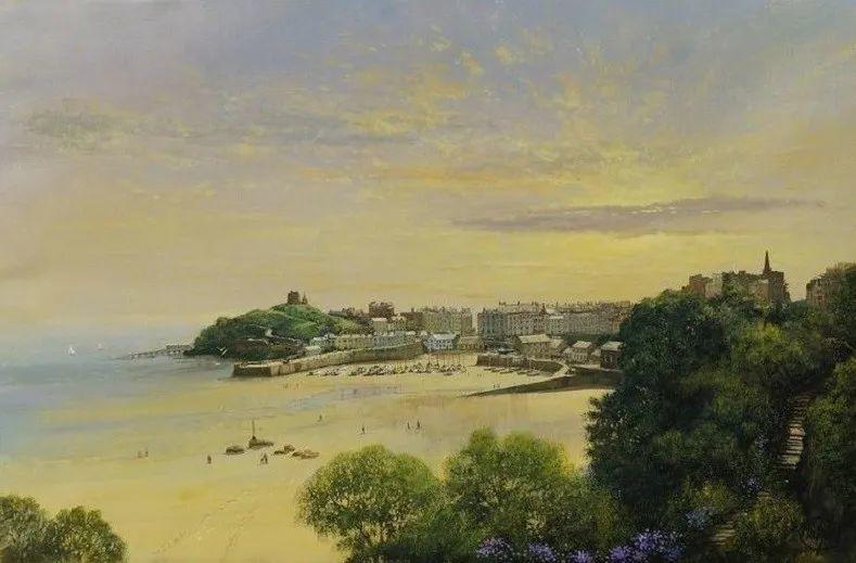 建筑风景,英国艺术家克莱夫·麦格威克插图32