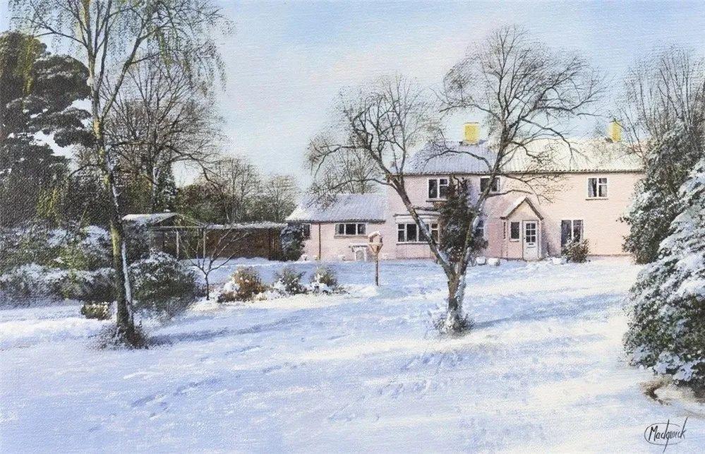 建筑风景,英国艺术家克莱夫·麦格威克插图33