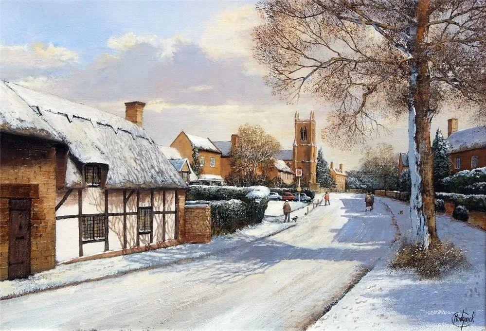 建筑风景,英国艺术家克莱夫·麦格威克插图35