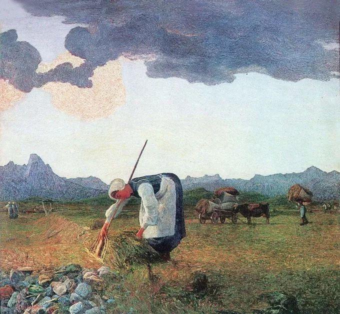 """意大利""""农民画家"""",乔凡尼·塞冈蒂尼插图11"""