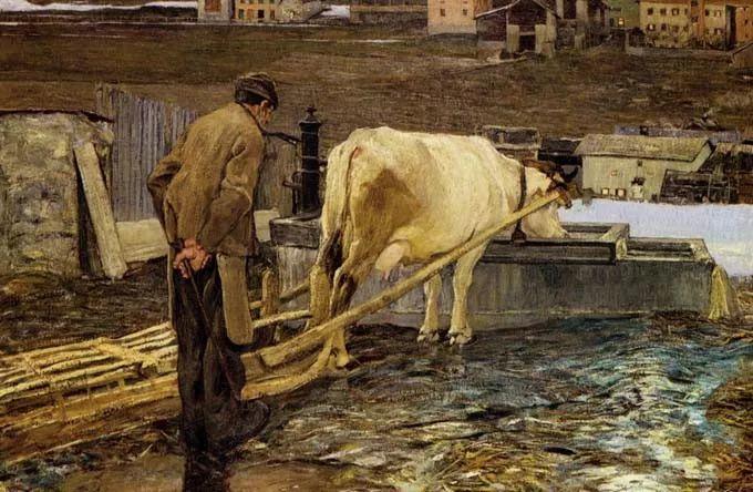 """意大利""""农民画家"""",乔凡尼·塞冈蒂尼插图24"""
