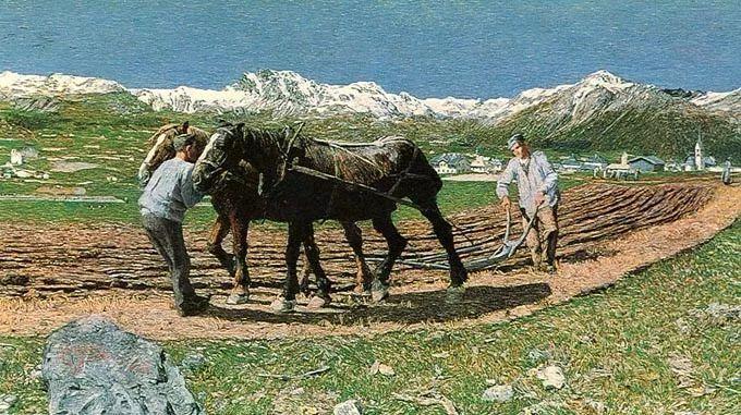 """意大利""""农民画家"""",乔凡尼·塞冈蒂尼插图34"""