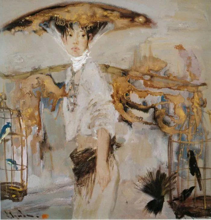 """他是乌克兰著名绘画大师,还是""""中国通"""",米哈伊尔·顾依达插图3"""