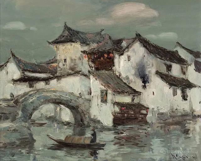 """他是乌克兰著名绘画大师,还是""""中国通"""",米哈伊尔·顾依达插图13"""