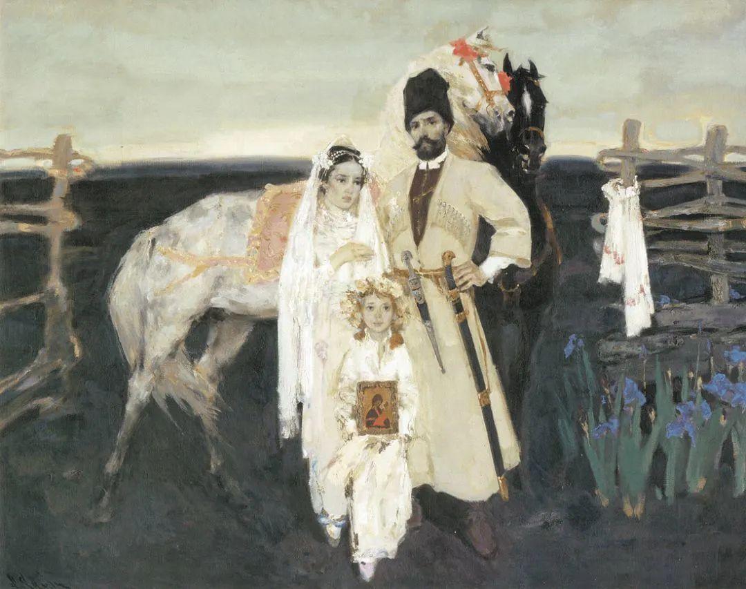 """他是乌克兰著名绘画大师,还是""""中国通"""",米哈伊尔·顾依达插图25"""