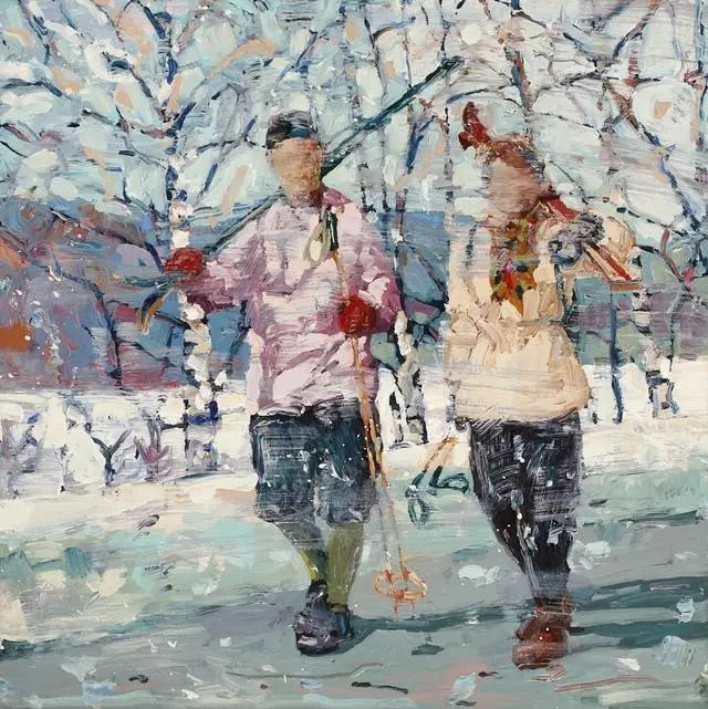 他既是画家又是作家,挪威托尔·阿恩·摩恩插图3