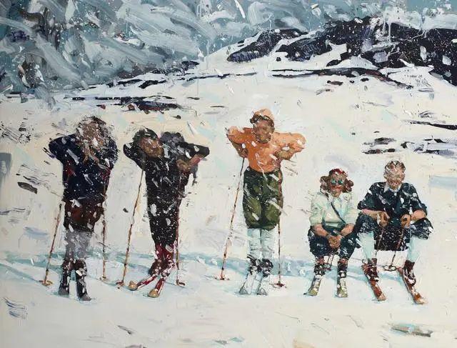 他既是画家又是作家,挪威托尔·阿恩·摩恩插图5