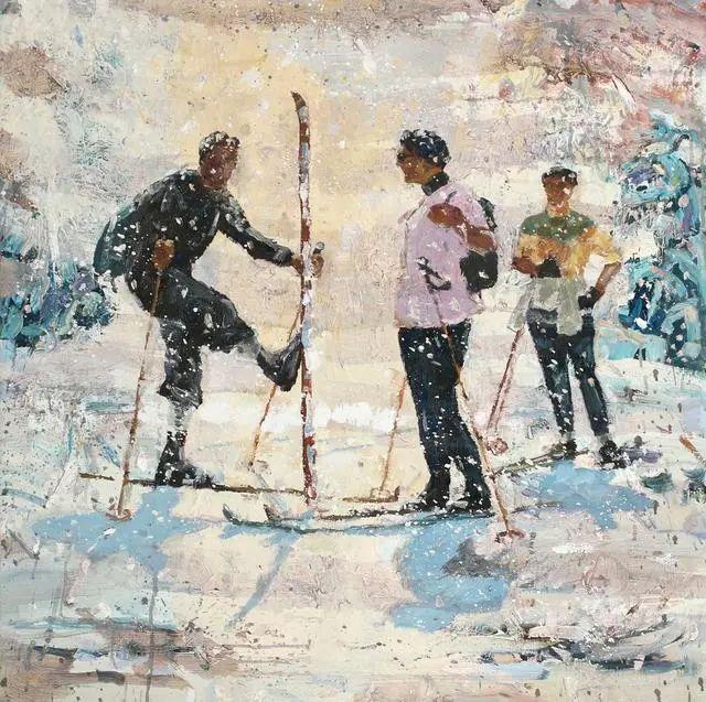 他既是画家又是作家,挪威托尔·阿恩·摩恩插图21