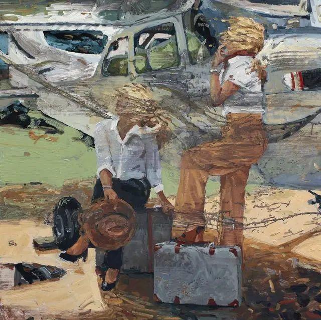 他既是画家又是作家,挪威托尔·阿恩·摩恩插图27