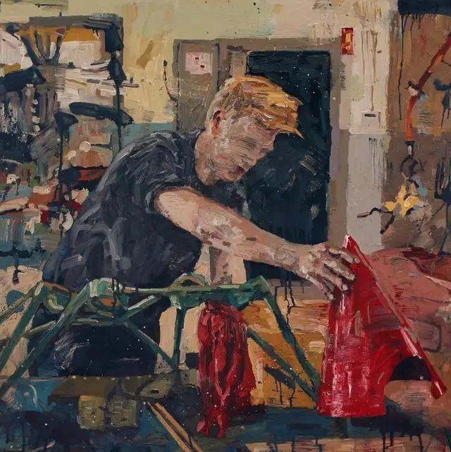 他既是画家又是作家,挪威托尔·阿恩·摩恩插图31