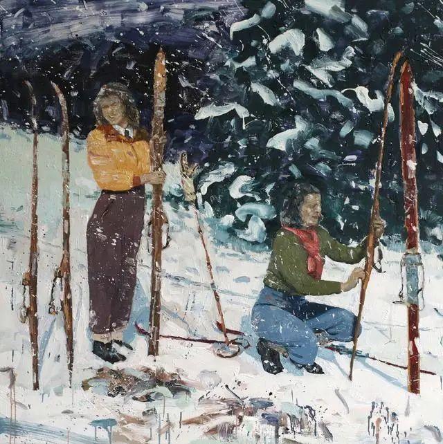 他既是画家又是作家,挪威托尔·阿恩·摩恩插图33