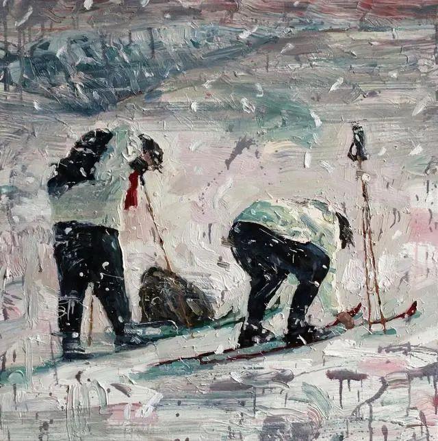 他既是画家又是作家,挪威托尔·阿恩·摩恩插图35