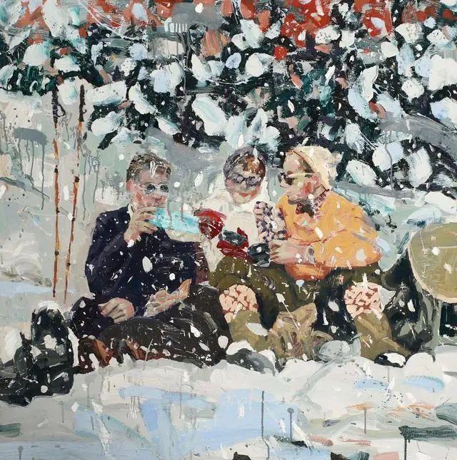 他既是画家又是作家,挪威托尔·阿恩·摩恩插图37
