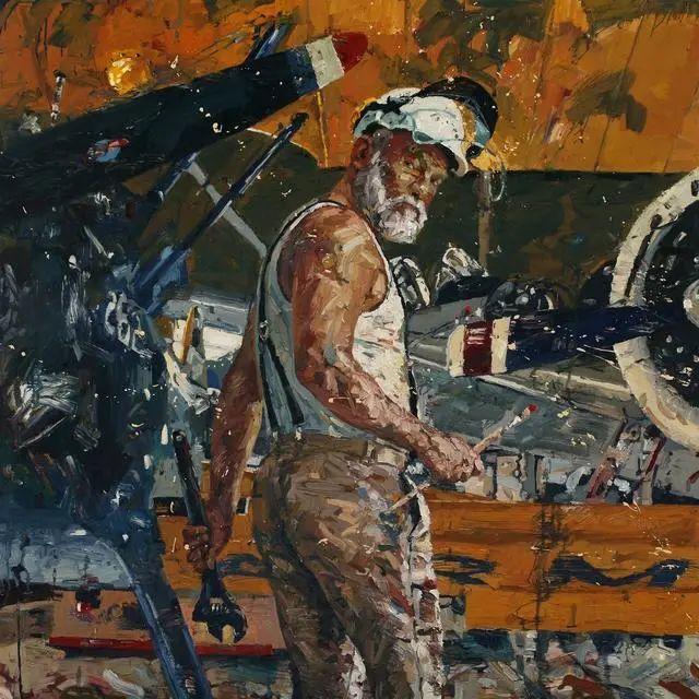 他既是画家又是作家,挪威托尔·阿恩·摩恩插图39